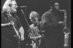 clearance clemmons joins jerry garcia band march 1989