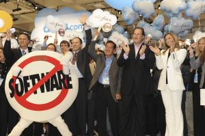 Salesforce.com goes on the NY stock exchange