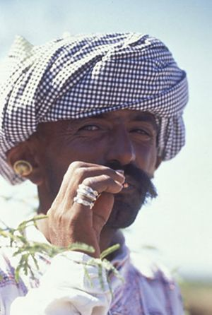 rabari tribesman - gujarat, india 1995