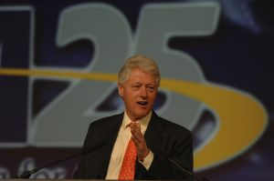 Bill Clinton, keynote speaker
